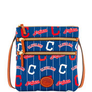 Indians Triple Zip Crossbody