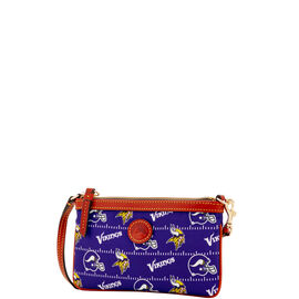 Vikings Large Slim Wristlet