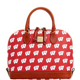 Wisconsin Zip Zip Satchel