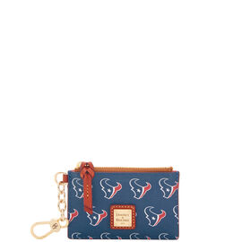 Texans Zip Top Card Case